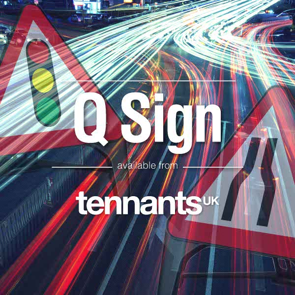 Tennants help you save on your Q-signs