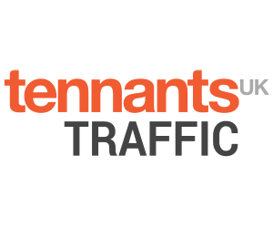 Tennants Traffic - logo 300x250px