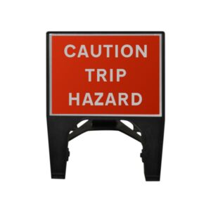 600mm Caution Trip Hazard Q-Sign