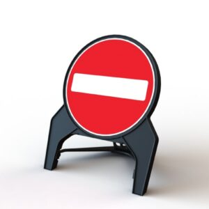 750mm No Entry Q-Sign
