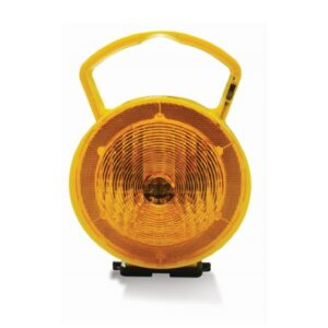 Nissen TaperLamp with amber lens