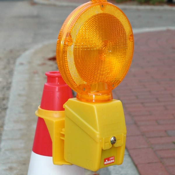 Traffic-Cone-with-MonoLight-Warning-Lamp
