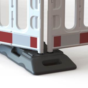 Barriers with fitted Thor Footplate