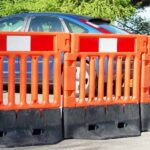 Strongwall Barriers in operation on site
