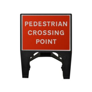 600mm Pedestrian Crossing Point Q-Sign