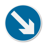 Keep-Right-Road-Sign-in-RA3b-on-Composite-with-Rails