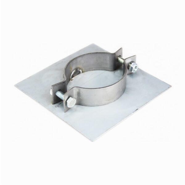 Steel Base Plate For 76mm Posts