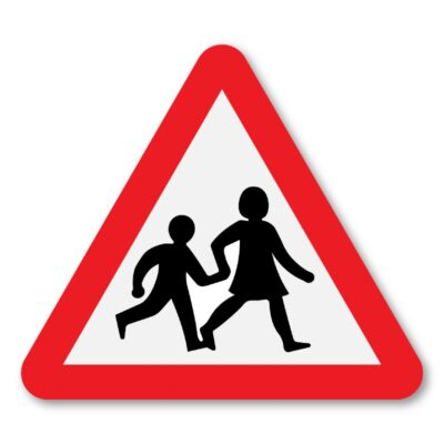 Children-Crossing-Sign-for-Posts-diagram-545