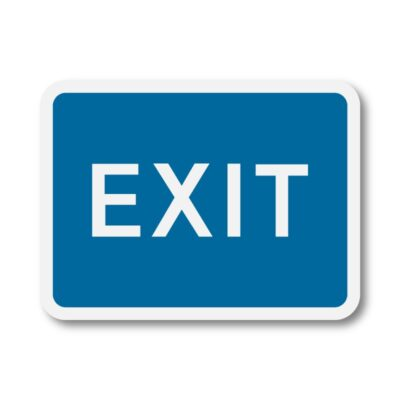 Exit-Sign-for-Posts-diagram