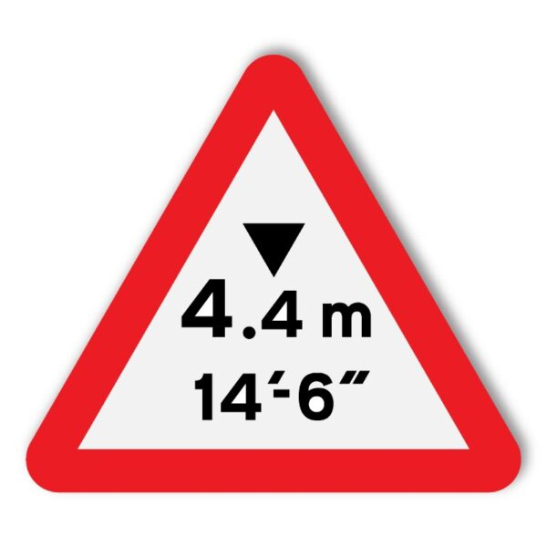 Headroom-Warning-Sign-for-Posts-diagram-530a