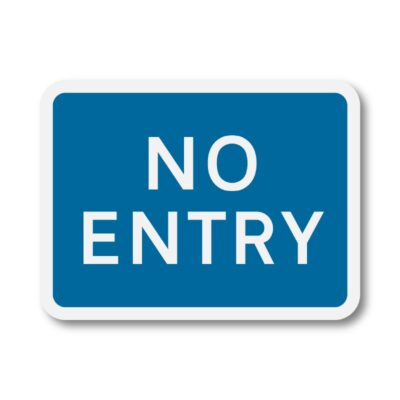 No-Entry-Sign-for-Posts-diagram-836