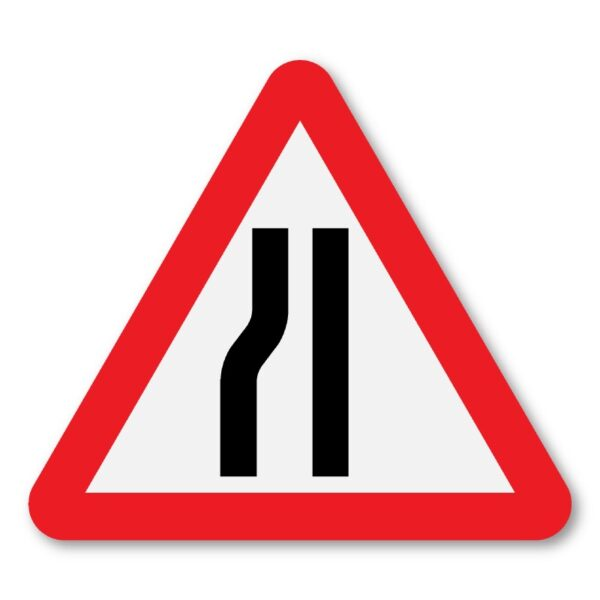 Road-Narrows-Left-Sign-for-Posts-diagram-517