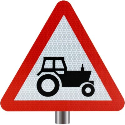 Tennants Agricultural Vehicles Sign for Posts