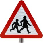 Tennants-Children-Crossing-Sign-for-Posts