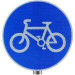 Tennants-Cycle-Route-Sign-for-Posts