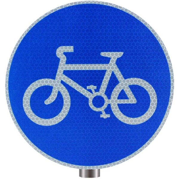 Tennants Cycle Route Starts Sign for Posts