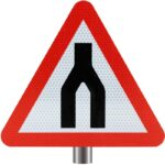 Tennants-Dual-Carriageway-Ends-Sign-for-Posts