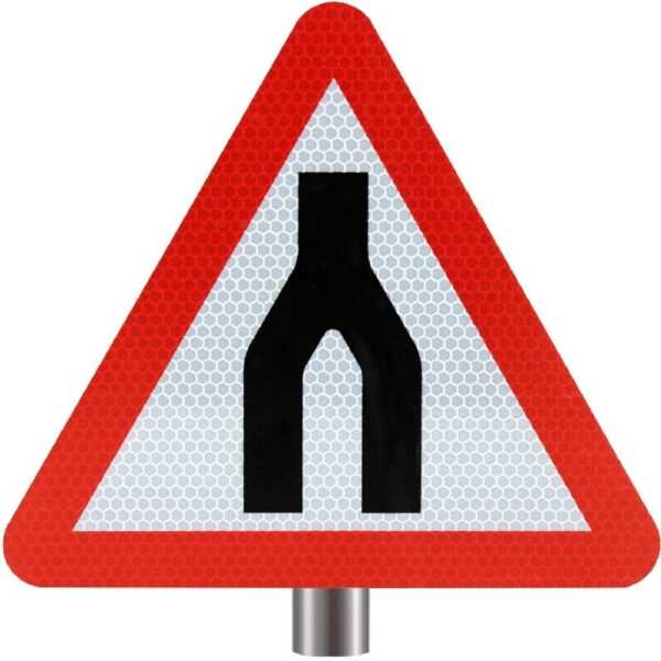 Tennants Dual Carriageway Ends Sign for Posts