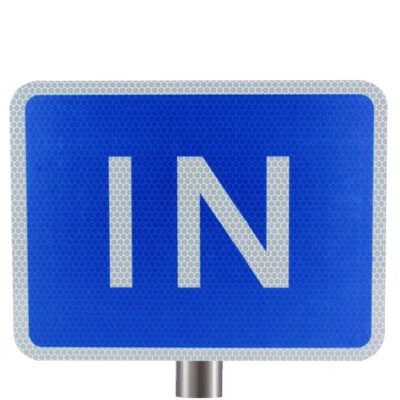 Tennants - Blue In Sign for Posts