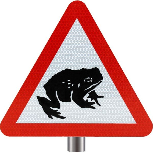 Tennants - Migratory Toad Crossing Sign for Posts