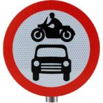 Tennants-Motor-Vehicles-Prohibited-Sign-for-Posts