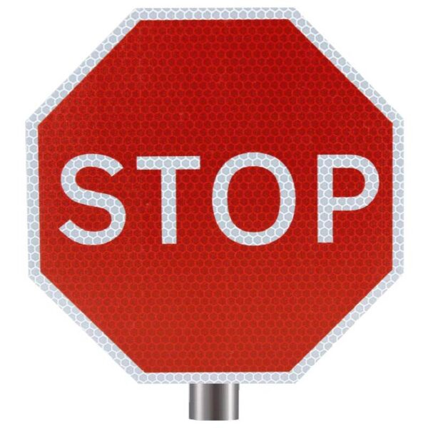 Tennants Stop Sign for Posts