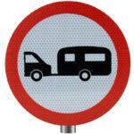 Tennants-Towed-Caravans-Prohibited-Sign-for-Posts