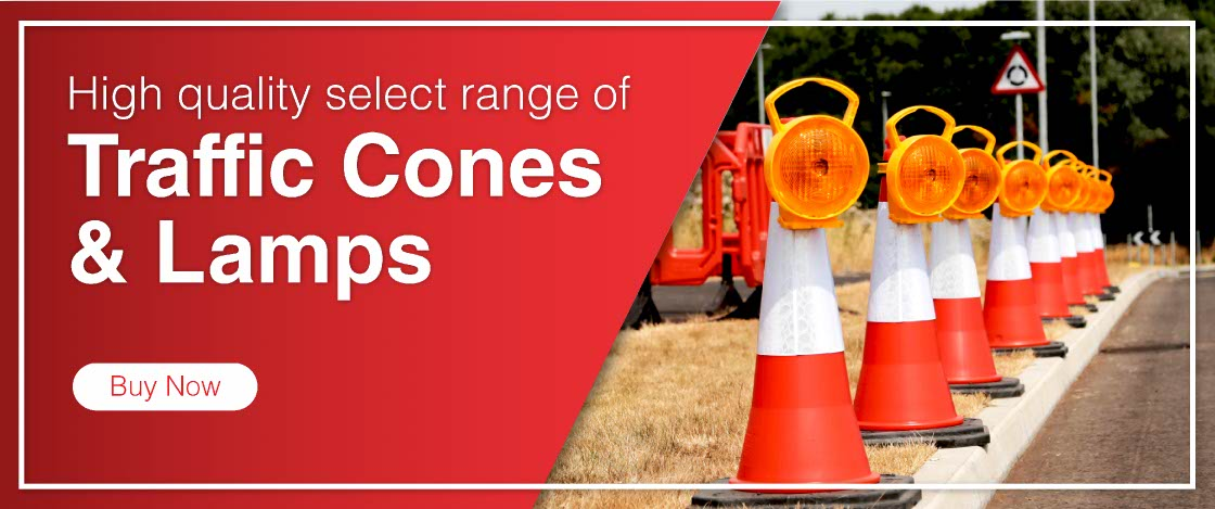 Tennants Traffic Cones and Warning Lamps