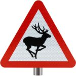 Tennants-Wild-Animals-In-Road-Sign-for-Posts