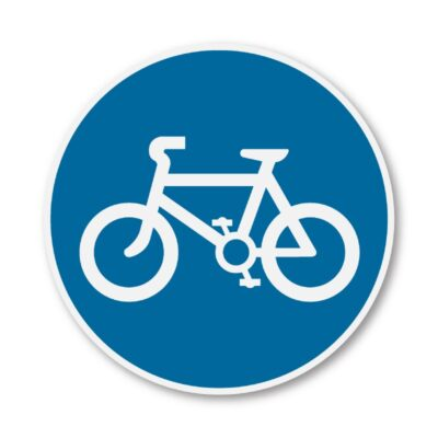 Cycle-Route-Sign-for-Posts-diagram-955