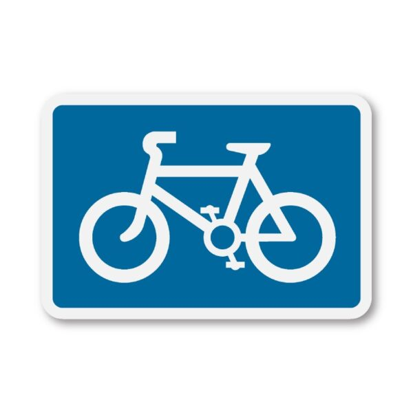Cyclists-on-Road-Sign-for-Posts-diagram-967