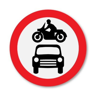 Motor-Vehicles-Prohibited-Sign-for-Posts-diagram-619