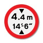 Vehicle-Height-Restriction-Sign-for-Posts-diagram-629_2a