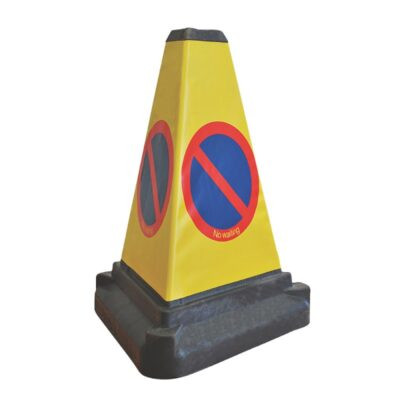 500mm 3-Sided No Waiting Cone