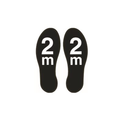Tennants Footprint Floor Stickers