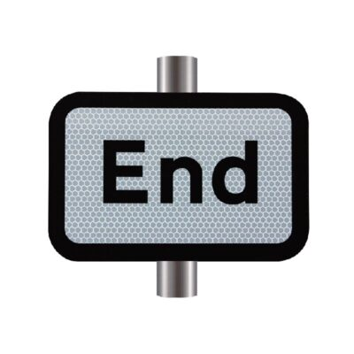 End Supplementary Sign